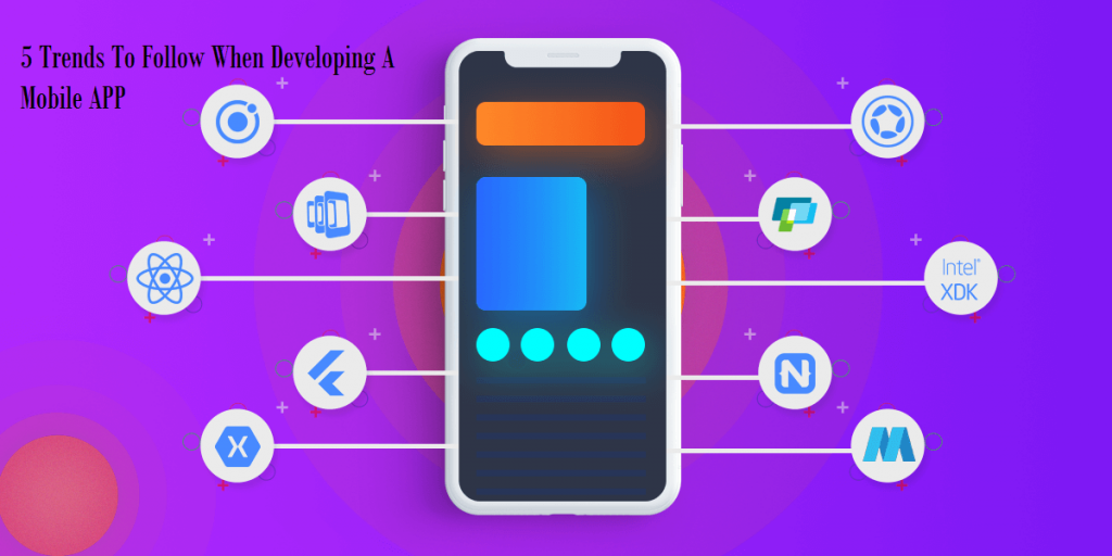 5 Trends To Follow When Developing A Mobile App