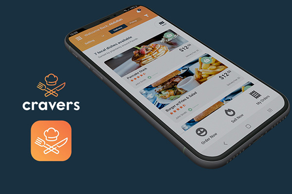Cravers, an On-Demand Food Delivery App