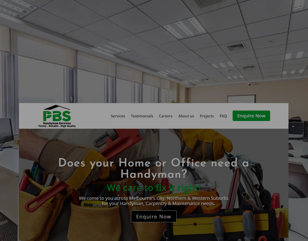 PBS Handyman Services