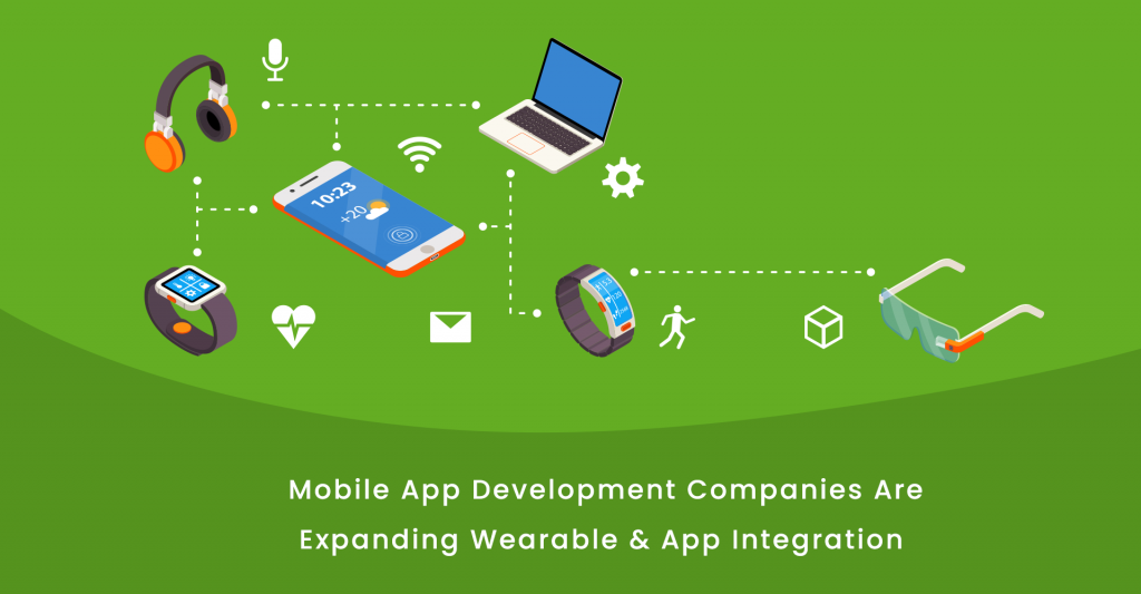 Integration of Wearable Apps