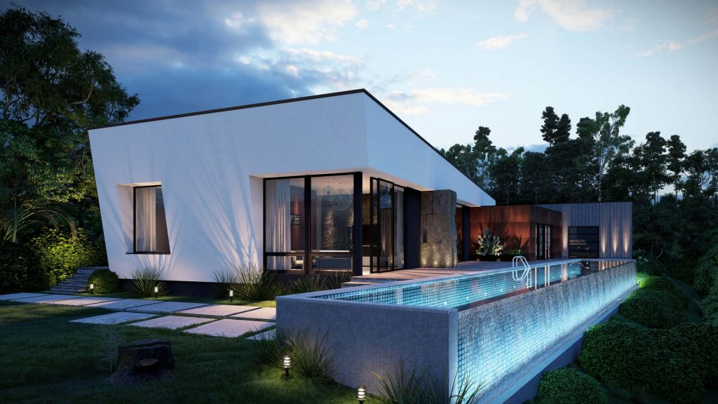 Create your own stand in the real estate business with 3d architectural rendering