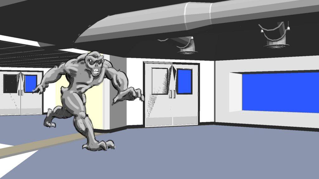 3d animation Storyboarding