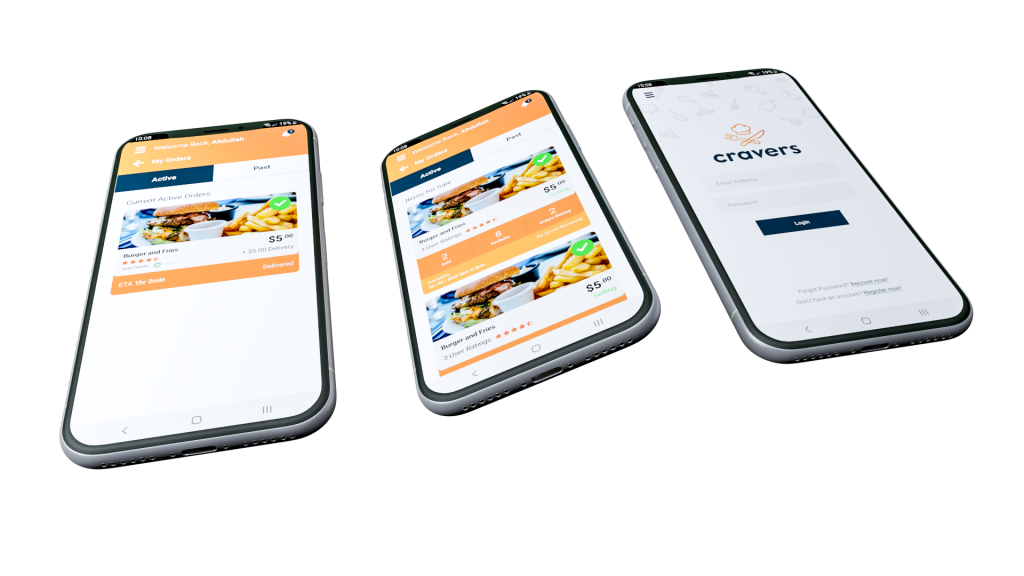 Cravers Android Mobile App